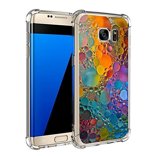 Neivi Compatible Phone Case for Samsung Galaxy S7 S7 Edge Replacement for Ultra Slim Protective Clear Soft TPU Reinforced Corners (Samsung Galaxy S7 Edge, (Curve Crystal Case)