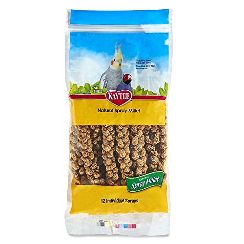 Kaytee Spray Millet for Birds, 12-Count (Millet Seed)