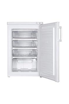 Haier HTTZ-506W Independiente Vertical 77L A+ Blanco - Congelador ...