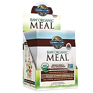 Garden of Life Meal Replacement Organic Raw Plant Based Protein Powder