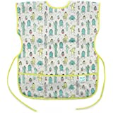 Bumkins Art Smock, Waterproof Short-Sleeved Smock, Cacti...