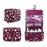 Ochioly Hanging Travel Toiletry Bag Nylon Portable Makeup Comestic  Organiser Folding Travel Wash Bag With Detachable b66fc06a18eaf