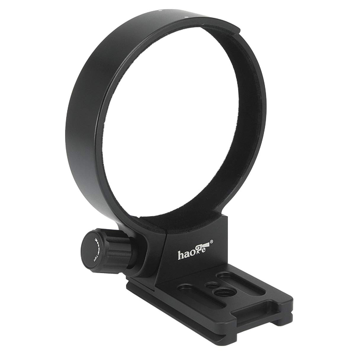 Haoge LMR-SM140 Lens Collar Replacement Foot Tripod Mount Ring Socket Stand Base for Sigma 100-400mm f/5-6.3 DG OS HSM Contemporary Lens Built-in Arca Type Quick Release Plate by Haoge