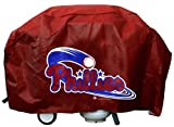 Rico Industries Philadelphia Phillies Grill Cover Deluxe, Red/Red