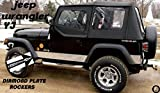 Fits Jeep YJ Diamond Plate Side Rocker Panel with