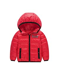 Charberry Baby Girls Boys Winter Down Coats Kids Cotton Jackets Hooded Outwear