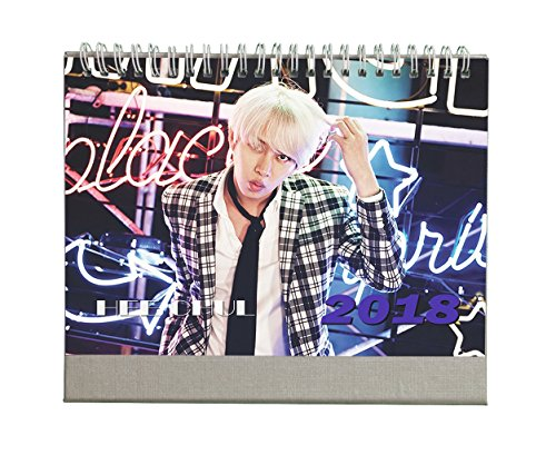 Fanstown Super Junior 2018 desk calendar Fanmade with lomo cards