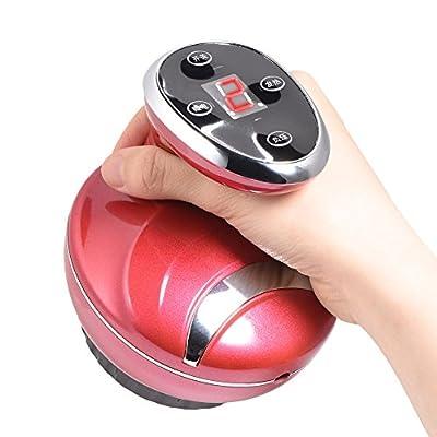 Electric Back Massager, Negative Pressure Neck Massage Soft Tissue Gua Sha Scraping Massage Health Device
