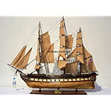 """USS Constitution 59"""" Quality Tall Ship Model Old Ironsides"""