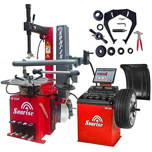 Tire Changer SR112AF Wheel Balancer SR308 Machines Rim Clamping:14