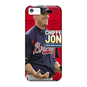 New Arrival Atlanta Braves For Iphone 5c Case Cover wangjiang maoyi