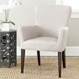 Safavieh Mercer Collection Dale Arm Chair, Taupe For Sale