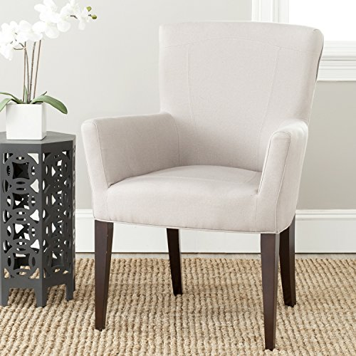 Safavieh Mercer Collection Dale Arm Chair, Taupe