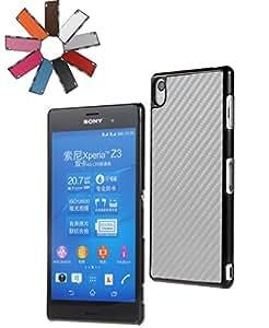 BRALEXX Teléfono inteligente Maletín Cubierta Bolso Funda Estuche protector adecuado para Apple HTC Sony Samsung - Plata, Sony Xperia Z3