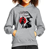 Cloud City 7 Nier Automata 2B Under The Sun Kid's Hooded Sweatshirt