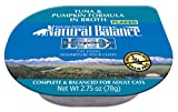 Natural Balance Limited Ingredient Diets Wet Cat Food, Tuna & Pumpkin Formula in Broth, 2.75-Ounce Cups (Pack of 24)