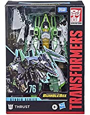 Transformers Toys Studio Series 76 Voyager Class Transformers: Bumblebee Thrust Action Figure - Ages 8 and Up, 6.5-inch