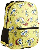 Nickelodeon Big Girls'  SpongeBob Allover Print Backpack