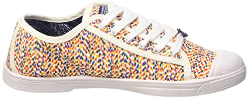 Le Temps des CerisesLtc Basic 02 - Zapatillas de deporte, Mujer Multicolor - Multicolore (Dotty)