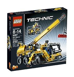 amazoncom lego technic mini mobile crane 8067 toys amp games