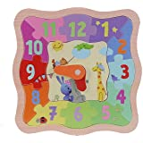 Eichhorn 109467051 KiKANiNCHEN - Puzzle-reloj aprendizaje [Importado de Alemania] (Simba Dickie)