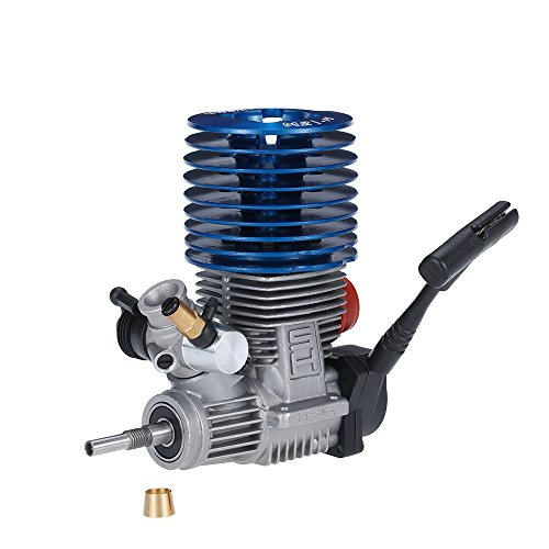 JIMI Original SH M21-P3 3.48cc 2-stroke Pull Start Engine for 1/8 Nitro Powered Buggy Truggy RC Car (Sh Rc Engines)