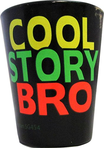 Funny shot glass ''Cool Story BRO