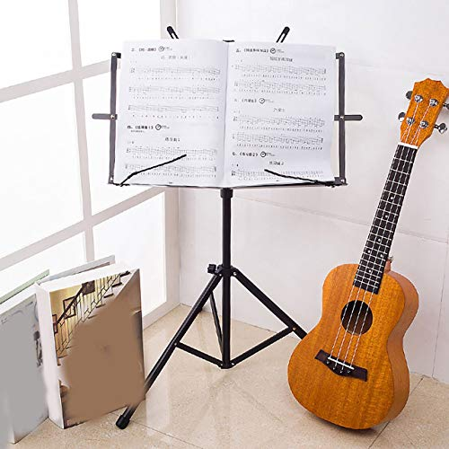 Professional Foldable Small Music Stand Tripod Stand Holder Musical Instrument for Sitting Or Standing Positions