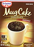 microwave cake mug - Dr. Oetker Mug Cake Chocolate Instant Cake Mix 3-Ounce (Pack of 4)