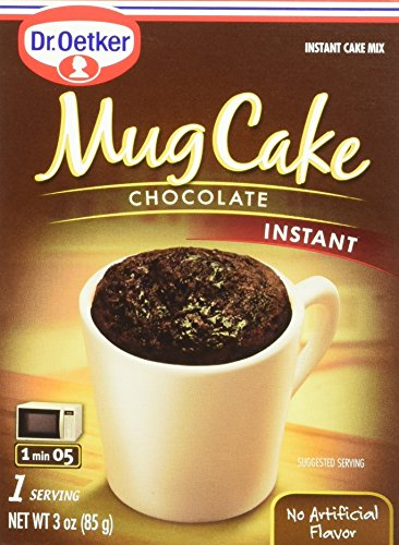 (Dr. Oetker Mug Cake Chocolate Instant Cake Mix 3-Ounce (Pack of 4))
