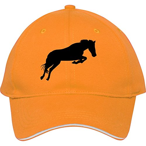 2015 Cool Fashion Trendjumping Horse Yellow Male/female Snapback Baseball Cap (Taylormade Childrens Clothing)