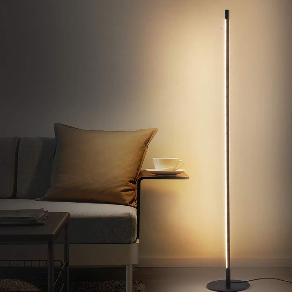 Piantana Dimmerabile per Camera da Letto MH-LAMP LED Lampada a Stelo Lampada da Terra con Telecomando Lettura Lampada da Terra