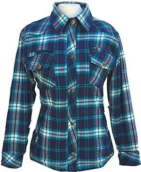 Bores Lumberjack Mujer Chaquetas de camisa resistente a ...
