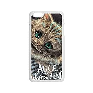 Alice In Wonderland Fashion Comstom Plastic case cover For Iphone 6