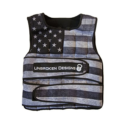 40lb-Stars-and-Stripes-Weighted-Vest