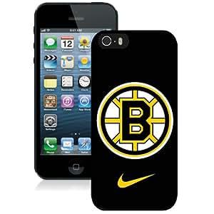 Boston Bruins Black Best Sale Fantastic iPhone 5S Cover Case