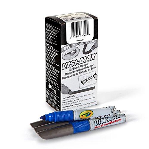 Crayola Markers Visi Max Chisel CYO986012A042