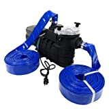 Emergency Water Pump Portable Pumping Kit Flood Water Pump (All Purpose Self-Priming Water Pump Model)