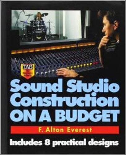 - Sound Studio Construction on a Budget