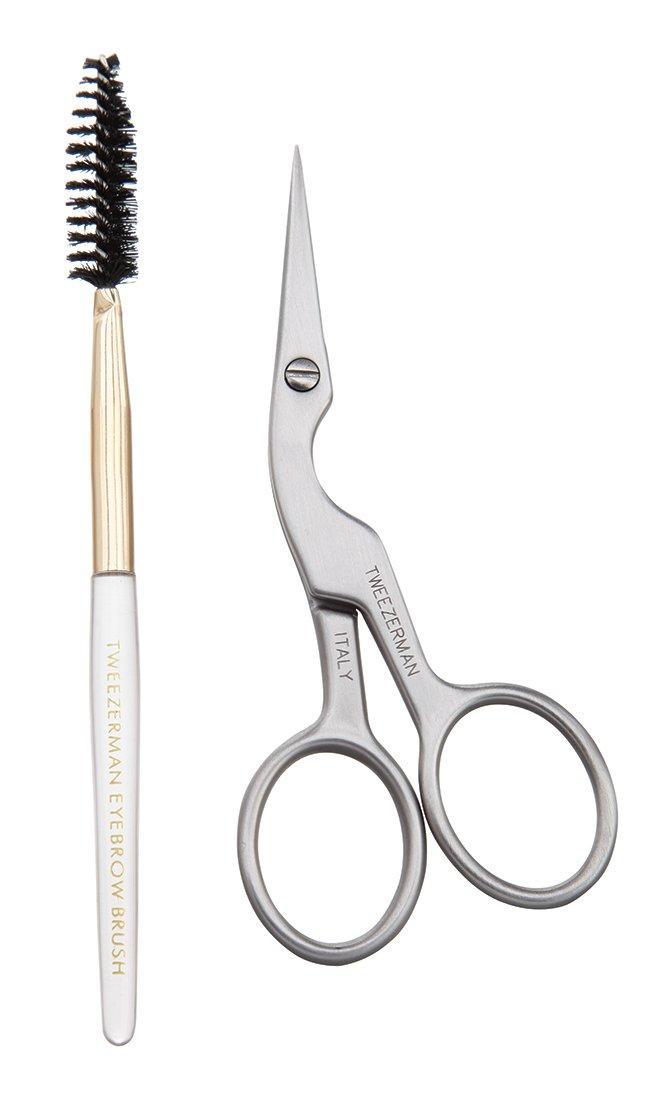 Tweezerman Brow Shaping Scissors and Brush Model No. 2914-R