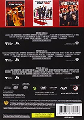 Pack: Oceans 11, 12 Y 13 [DVD]: Amazon.es: George Clooney, Brad Pitt, Julia Roberts, Matt Damon, Steven Soderbergh, George Clooney, Brad Pitt, Jerry Weintraub: Cine y Series TV