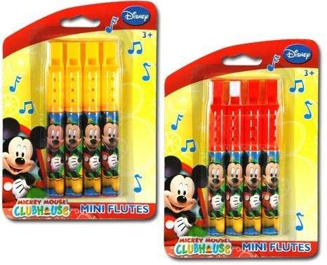Disney Mickey Clubhouse 4Pk Mini Flute