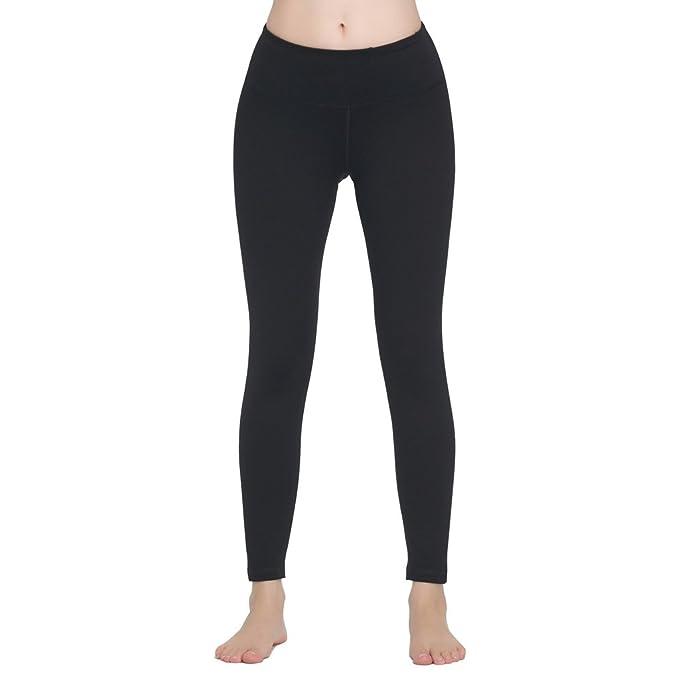 Lover-Beauty Pantalones Yoga Deportivas Mujer Leggins Elastico Cintura Altura Deportivos Algodón Modal Polainas para Danza Fitness