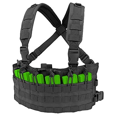 Condor Outdoor Rapid Assault Chest Rig Color- Black by Condor Outdoor