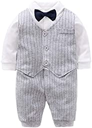 Fairy Baby Baby Boy's One Piece Long Sleeve Gentleman Formal Ou