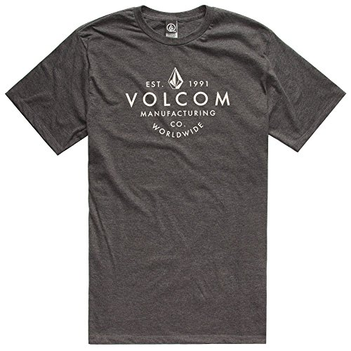 volcom-mens-patchwork-t-shirt-size-large-color-charcoal-heather