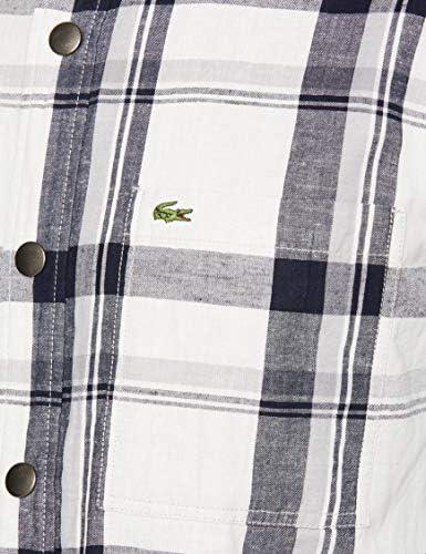 WOVEN SHIRTS コットン×リネンリバーシブルシャツ メンズ
