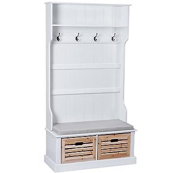 affordable miadomodo meuble duentre vestiaire lph with meuble d entree maison du monde
