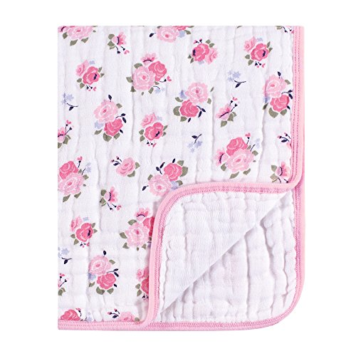 Luvable Friends Four Layer Muslin Tranquility Blanket, ()