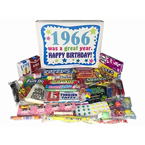 85OFF 51st Birthday Gift Box Of Nostalgic Retro Candy From Childhood For A 51